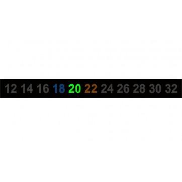 Termómetro para calendario