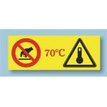 Temperature indicator to avoid risks in the workplace