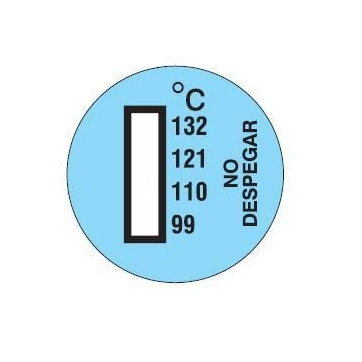 Temperature indicator to detect engine overheating