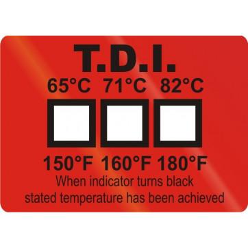 Indicador de temperatura para el control de la desinfección en lavavajillas industriales