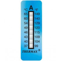 8-level adhesive thermometer