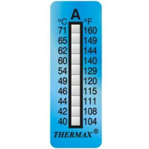 10-level adhesive temperature indicator