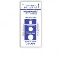 WarmMark Time and temperature indicators